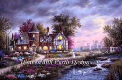 画像1: HeavenAndEarth図案 Ashleigh Gardens