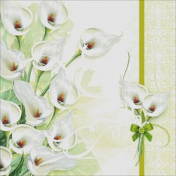 画像2:  HeavenAndEarth図案 Calla Lily