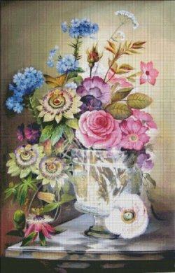 画像2: HeavenAndEarth図案 Vase With Flowers