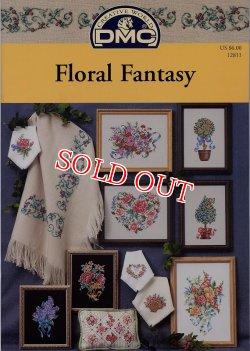 画像1: DMC図案 Floral Fantasy