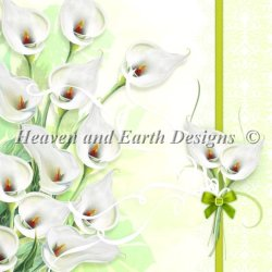 画像1:  HeavenAndEarth図案 Calla Lily
