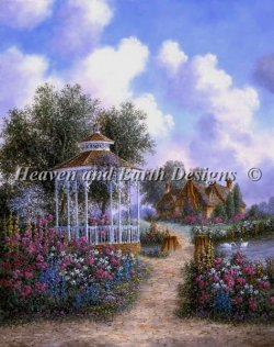 画像1: HeavenAndEarth図案 Garden Path