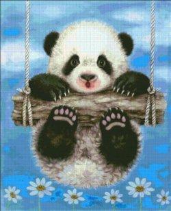 画像2: HeavenAndEarth図案 Panda Swing